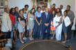 MJYF Leadership Academy Class visiting Congressman John Lewis in Washington, DC